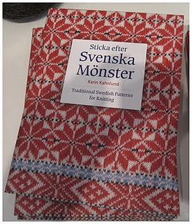 Sticka efter Svenska Mönster - Traditional Swedish Patterns for Knitting by Karin Kahnlund The patterns are in both Swedish and English. I just ordered it.