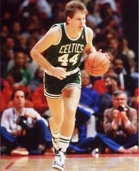 Danny Ainge. One of my all time favs. A good bball player with a huge heart. I loved watching when he was really excited, or mad. LOL