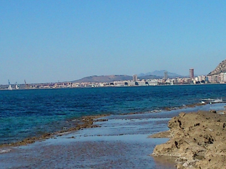 Alicante (Spain) from Cabo Huertas