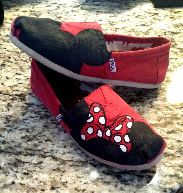 Disney Toms @Josh Lam Moore I need these bad boys. Too bad were only a few days away. Grrr!