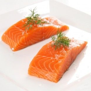 Salmon - healthy omega 3 fats for your heart function, healthy skin and glowy hair!