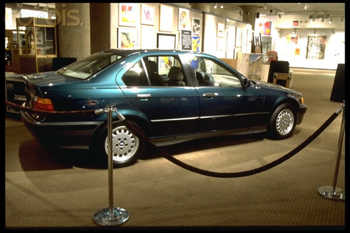 Jackie's 1992 BMW that was part of her estate auctioned by