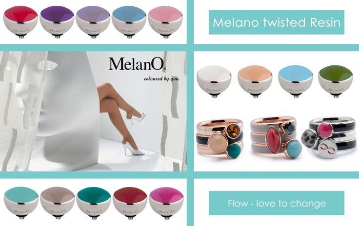 Modern, elegant en vooral kleurrijk. De nieuwe Melano Twisted resin ringen en zettingen. Alle zettingen van de Twisted serie zijn te plaatsen op alle ringen uit deze serie. De mogelijkheden zijn ongekend!