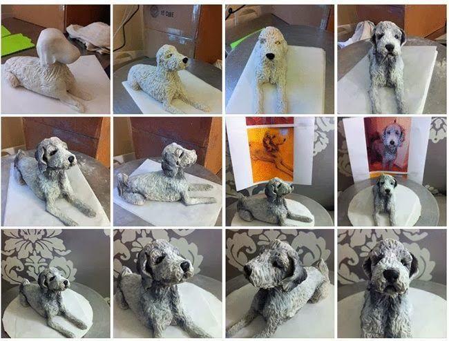 How to make a Dog Cake