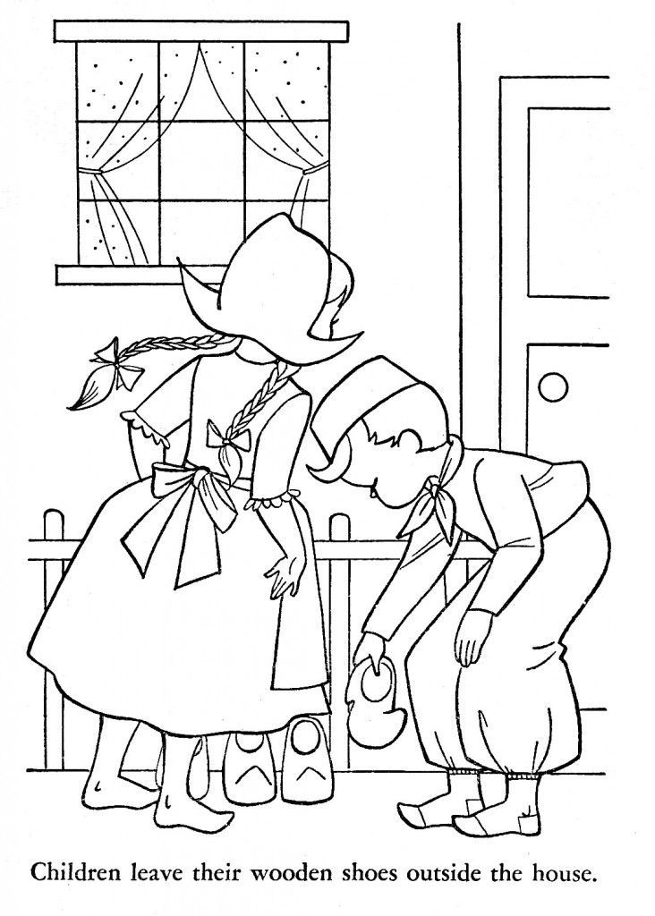 Children Of Other Lands Coloring Book 1954 Q Is For Quilter In
