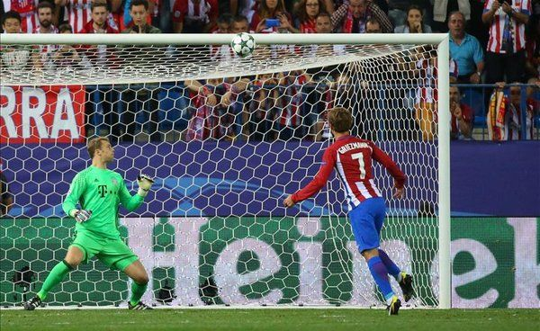 Liga Champions: Gagal Eksekusi Penalti, Griezmann Malah Disanjung Simeone -  http://www.football5star.com/liga-champions/liga-champions-gagal-eksekusi-penalti-griezmann-malah-disanjung-simeone/89432/