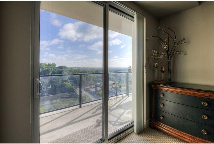 Master Bedroom Views. Guelph, Ontario. Luxury Condominium Project.