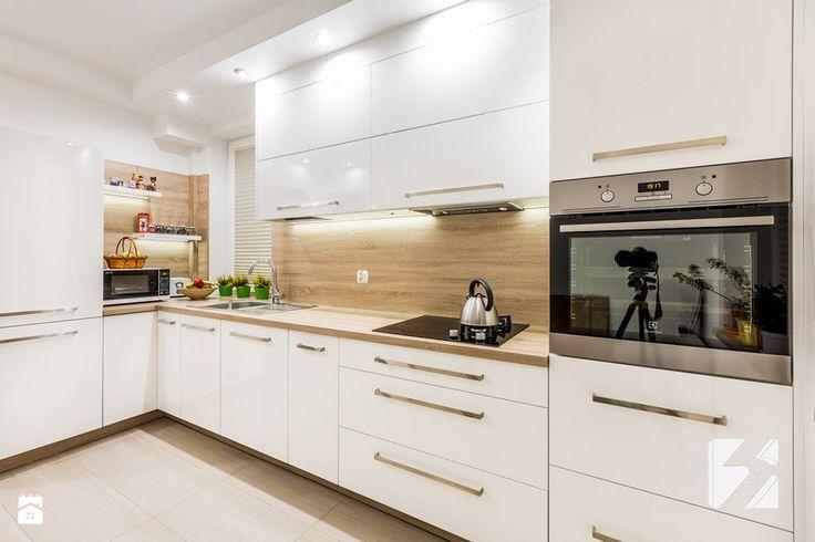 Kuchnia na wymiar w minimalistycznym stylu - zdjęcie od 3TOP Meble - Kuchnia - Styl Minimalistyczny - 3TOP Meble