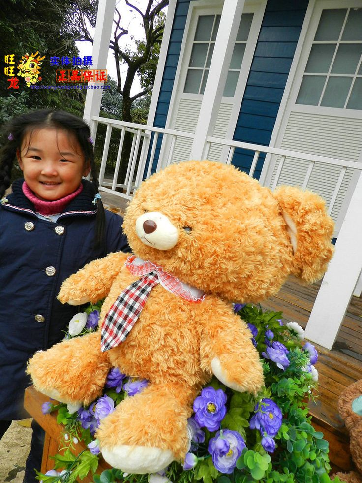 The lovely orange teddy bear doll plush student  teddy bear toy with tie birthday gift about 45cm //Price: $US $26.99 & FREE Shipping //     #toyz24