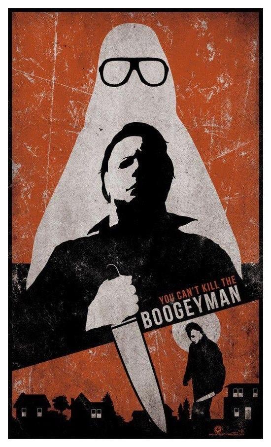 halloween the shape boogeyman michael myers - Halloween Mondo Poster