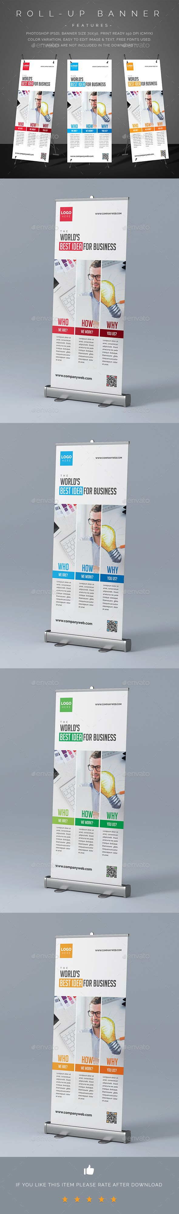 24 best Design - Roll Ups images on Pinterest | Rollup banner ...