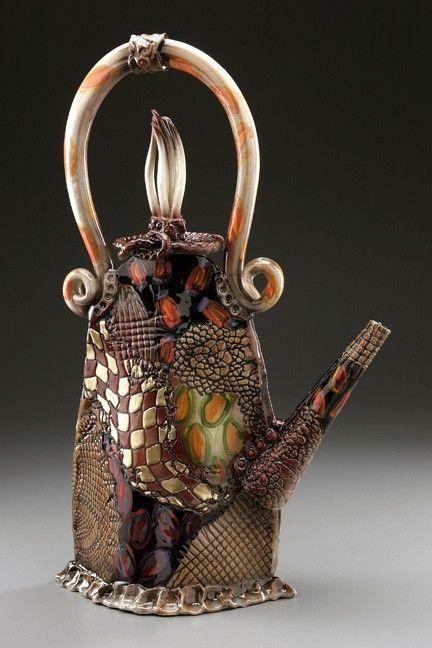 Gail Markiewicz Ceramic Art - Freeform Teapot