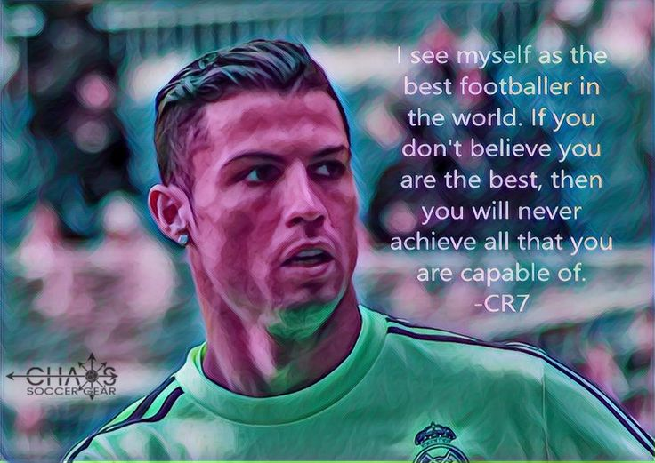 Motivational soccer quotes cristiano ronaldo