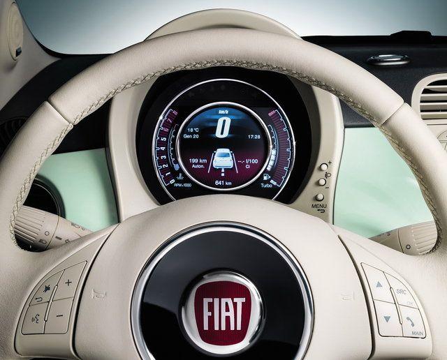 Cruscotto Fiat 500 Cult