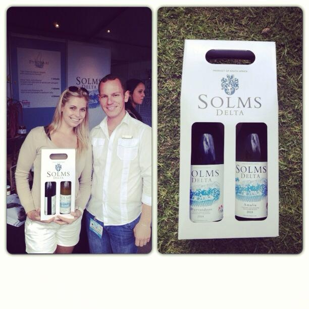 Taste of Cape Town 2013 - Solms Delta Wines Thank you Solms Delta Wine for my hamper of wines.   #wine #food #local #CapeTown #SouthAfrica