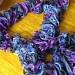 Handmade ruffled scarf. $15.00, via Etsy.