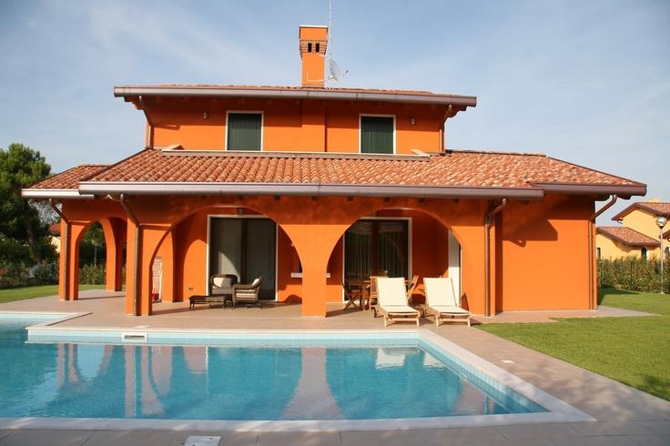PepeMare Albarella, Villen mit Pool