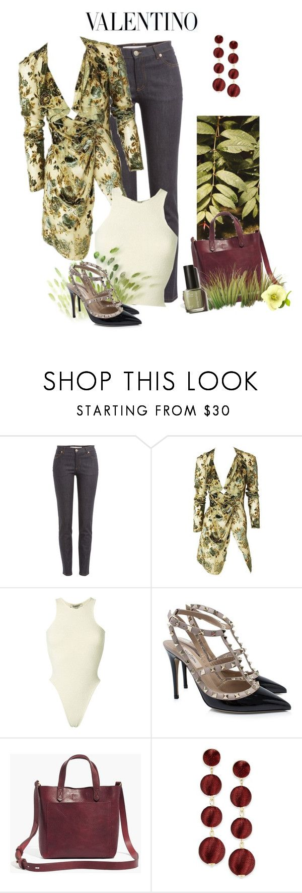 """""""Valentino Shoes!"""" by schneerose ❤ liked on Polyvore featuring Valentino, Yeezy by Kanye West, Madewell and INC International Concepts"""