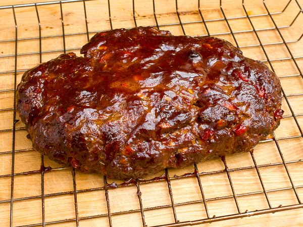 Smoked Beef Meatloaf Recipe