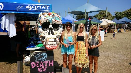 Oh the girls photo fell in love with the Rise Above Plastics recycled skull at Eco Challenge Sunshine Coast 2013...come and say hey in Nov. 2014 http://goo.gl/WyZXtx