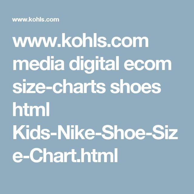 www.kohls.com media digital ecom size-charts shoes html Kids-Nike-Shoe-Size-Chart.html