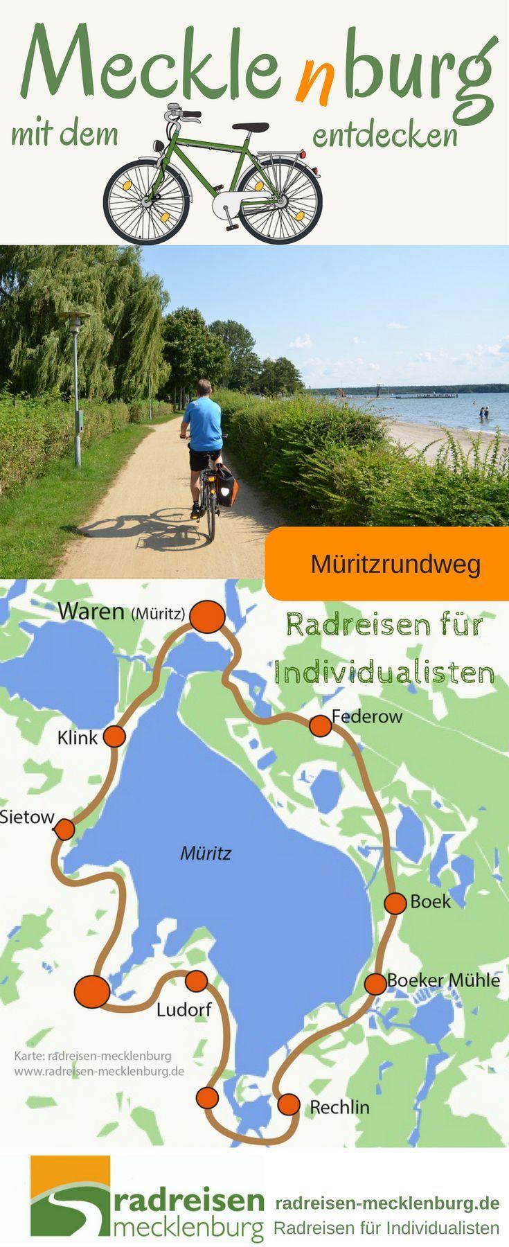 Im Herzen Mecklenburgs liegt eine Traumlandschaft Mecklenburgische Seenplatte mit über 2000 Seen