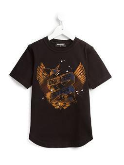 wings logo print T-shirt