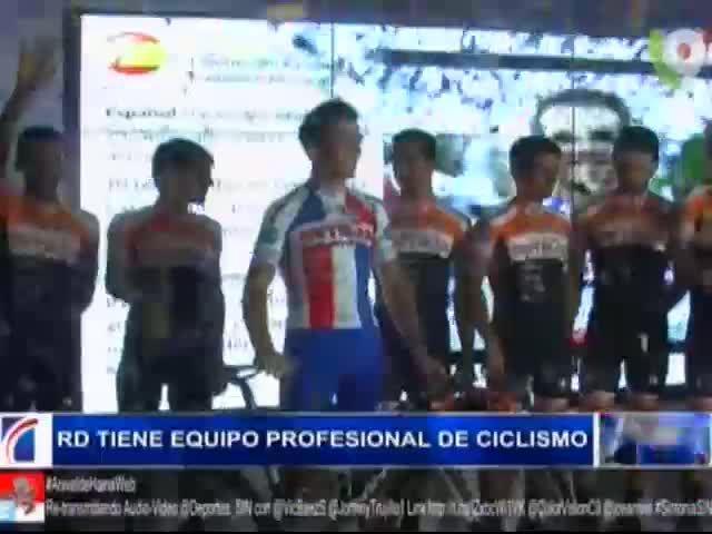 RD Ya Tiene Su Equipo Profesional De Ciclismo #Video