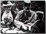 Archduke Franz Ferdiand photographed on the day of his assassination
