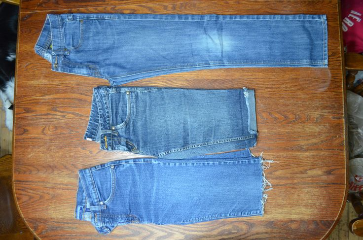 Ladies/teen size 26 jeans/shorts Top /west 49 Joey (short) middle Jacob Connexion streth, bottm Bluenotes hiphugger flare, stretch.