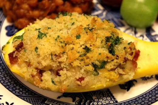 stuffed yellow squash                                                       …