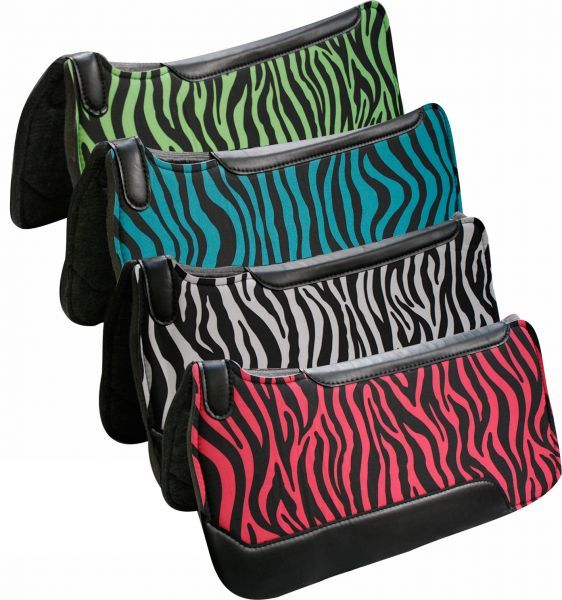 Spartan Fleece Saddle Cover Animal Print: Colorful Pictures Of Western Saddles