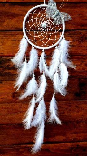 Lapač snov strieborný motýľ #lapac #dreamcatcher #handmade #lapacsnov #lapcsnu #motyl #rucnapraca