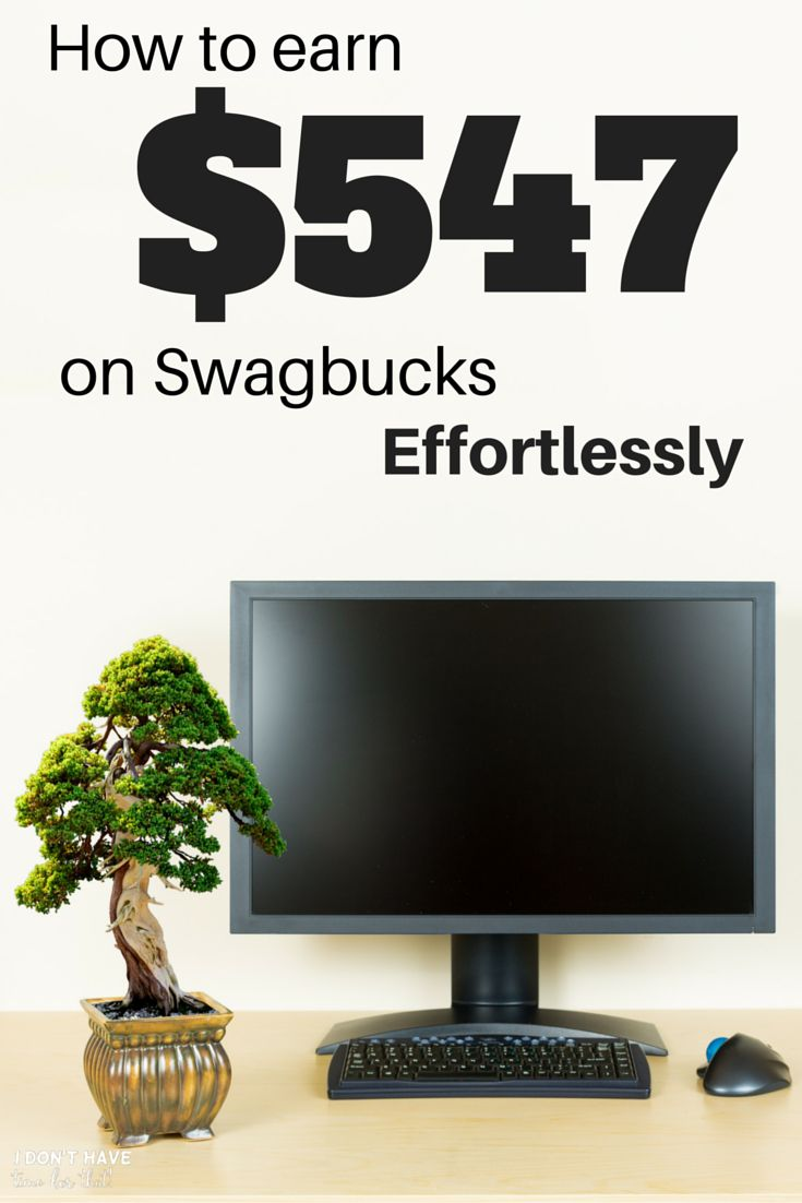 Earn 1000 Swagbucks A Day