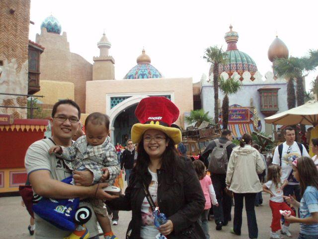 Main kekampungnya Aladin.