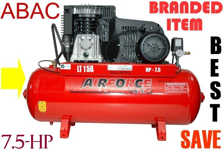 Compressor ABAC 7.5-hp TWO STAGE High output type