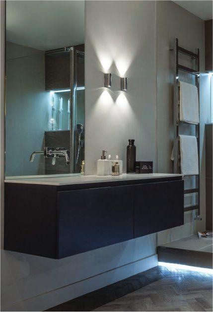 98 best Bathroom, En-Suite, Cloakroom Lighting & Mirrors images on ...