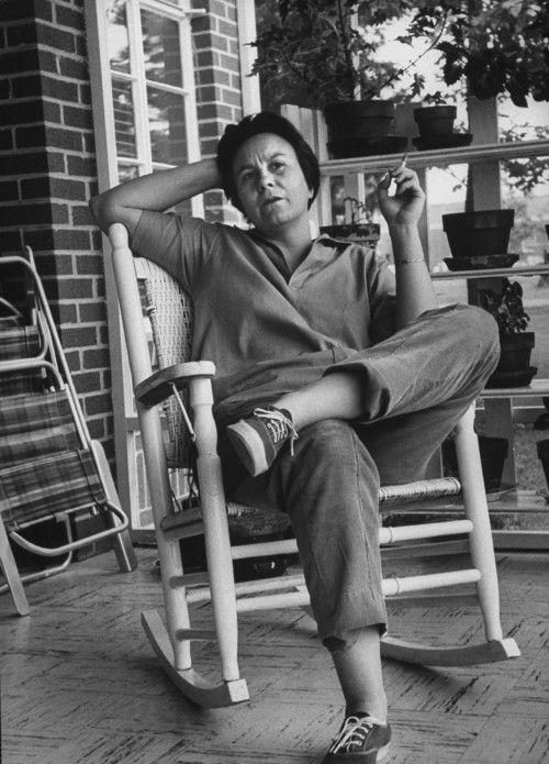 Η Χάρπερ Λι στο σπίτι της στην Αλαμπάμα, Μάιος 1961