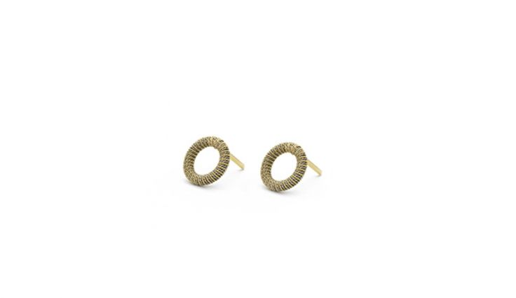 Liliana Guerreiro | Colecções - Handmade silver and gold earrings, using a filigree technique, thread