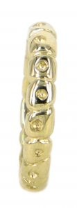 Adele wedding ring in 9ct yellow gold