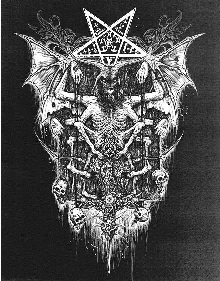 Mark Riddick - Heavy Metal Artwork