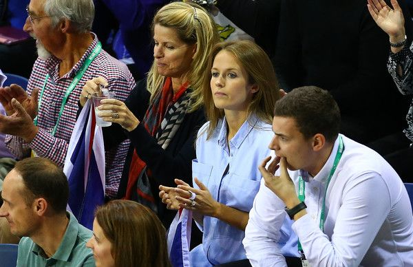 Kim Murray and her mother, Leonore Sears - Great Britain v Australia Davis Cup Semi Final 2015 - Day 3 -