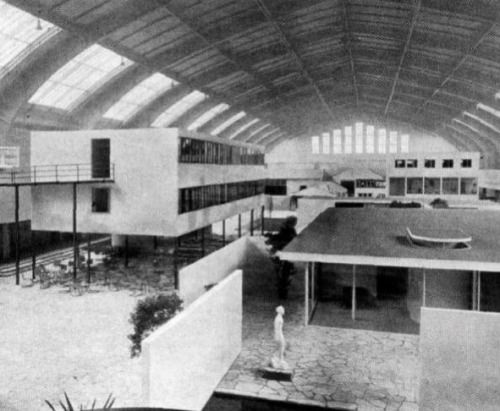 Ludwig Mies van der Rohe, The Dwelling of Our Time, for the German Building Exhibition, Berlin, Germany, 1931
