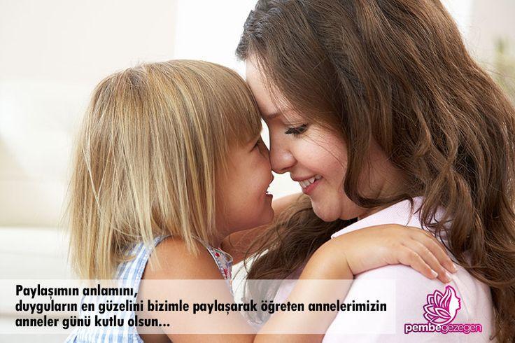 Paylaşımın anlamını, duyguların en güzelini bizimle paylaşarak öğreten annelerimizin anneler günü kutlu olsun...