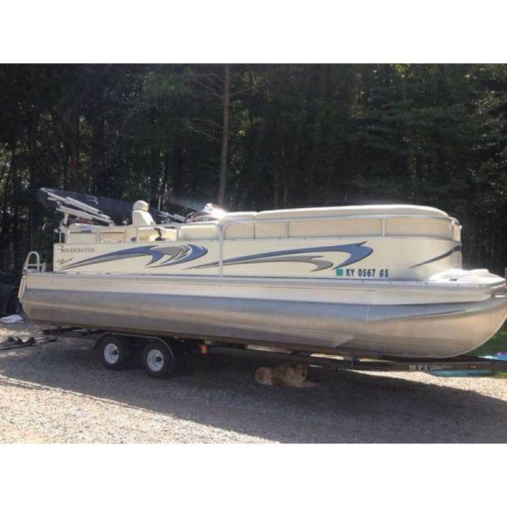 En Oferta Pontoon Boat Bennington Tritoon 22 de 2007, Importación y venta de Barcos de segunda mano desde Estados Unidos, Venta de embarcaciones de Ocasion, En Venta de Ocasión Embarcación Pontoon Boat Bennington Tritoon 22 de 2007 con Motor Fueraborda Ya