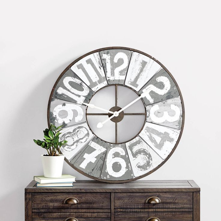 Big Wall Clocks Looking for the perfect wall clock? We've got plenty of great wall décor clocks that tick all of the right boxes. Shop modern, contemporary and industrial styles online. Anytime.