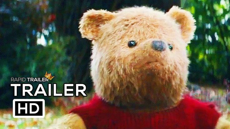 CHRISTOPHER ROBIN Official Trailer (2018) Disney Live Action Winnie The Pooh Movie HD - YouTube