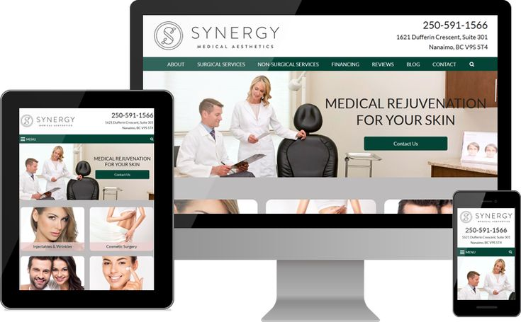 Synergy Medical Aesthetics | www.synergyaesthetics.ca | British Columbia, CAN | Dr. Gabriele Weichert and Dr. G. Philip Barnsley make advanced training a focal point of Synergy Medical Aesthetics. In addition to highlighting their experience, the new Synergy Medical Aesthetics website presents extensive information on the diverse services available at the practice. Contact them today to schedule a consultation!