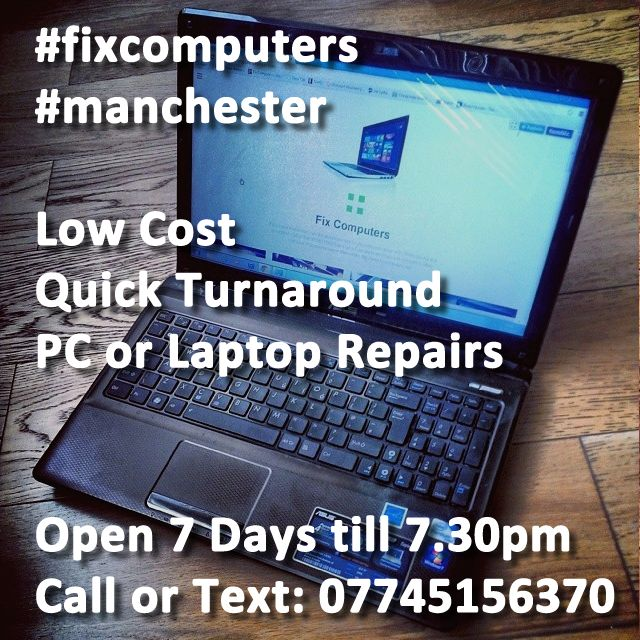 Best Laptop Repair Manchester Fixcomputers Images On