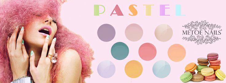Color Gel Pastel. Pastel color gel die meer dan 2 weken mooi blijft, zonder afbladderen of beschadigingen. Het heeft een gemakkelijke 1-laagsapplicatie. Alle kleuren zijn hoogglans en perfect voor de natuurlijke nagels en overlays.